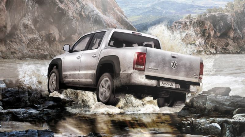 Pickup 4x4 todo terreno