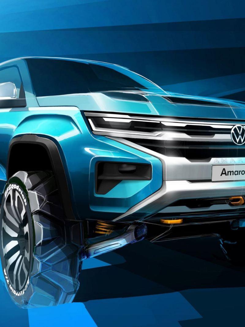 Nowa wersja Volkswagen Amarok, bazująca na modelu Ford Ranger