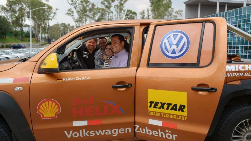 Visita a la planta Volkswagen México