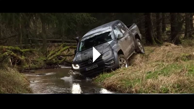 The Wheel Network hårdtestar Amarok offroad