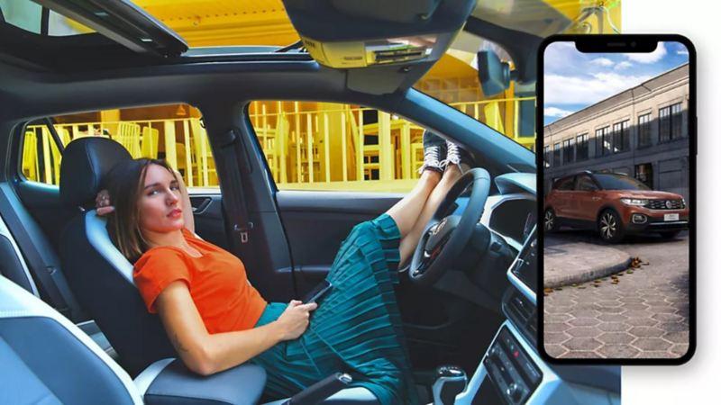 Descubre T-Cross de Volkswagen para conocer las características y diseño exterior del SUV urbano