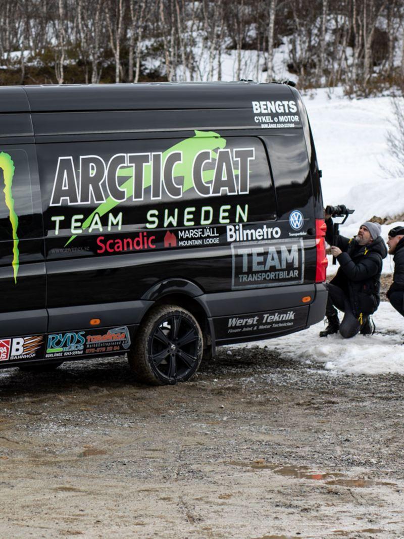 Arctic Cat Team Sweden åker VW Crafter