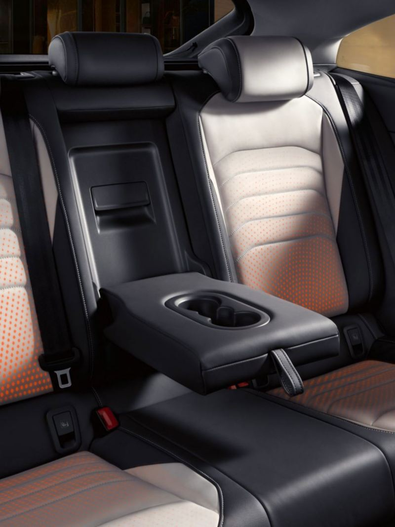 Interior seats of the Arteon