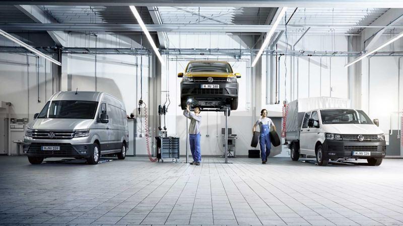 vw Volkswagen merkeverksted verksted service bilforsikring varebil Transporter Caddy Crafter Amarok