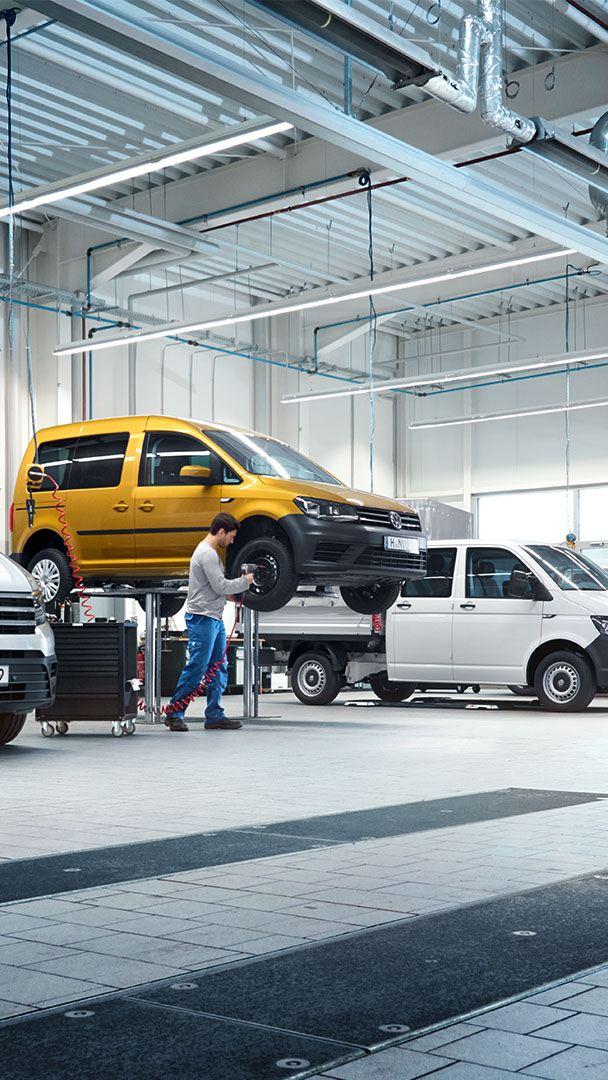 Volkswagen Véhicules Utilitaires à votre écoute Covid 19