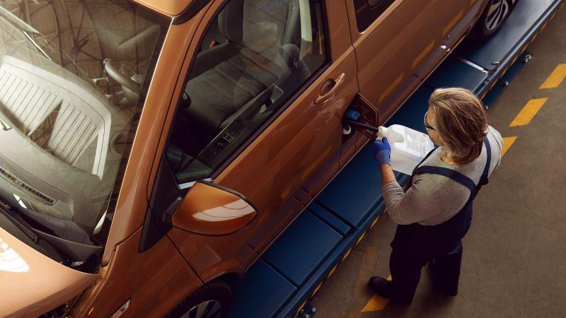 Servicio de mantenimiento Volkswagen Canarias