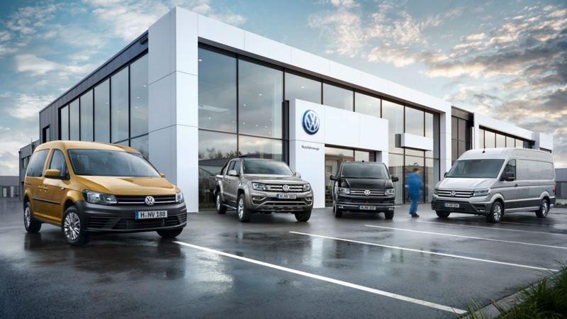 vw Volkswagen nybilgaranti merkeforhandler merkeverksted Caddy Amarok pickup Transporter kassebil varebil stor liten Crafter