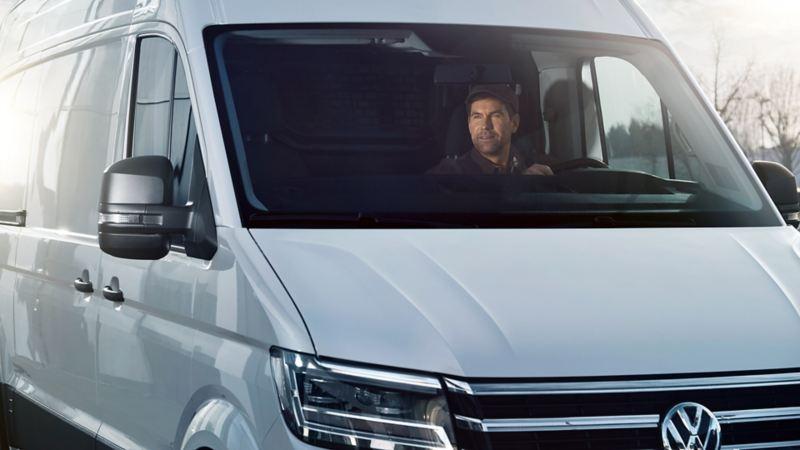 vw Volkswagen unormal slitasje leasing overdragelse leasingkontrakt privatleasing bedrift varebil leasingbil finansiering ny arbeidsbil firmabil Crafter kassebil