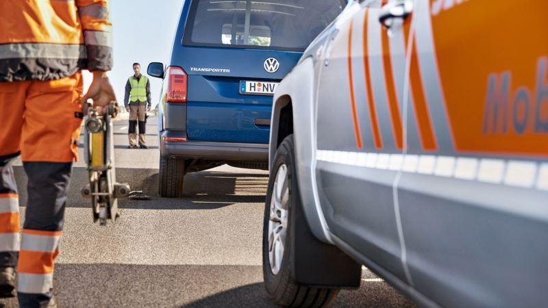 vw Volkswagen garanti mobilitetsgaranti service vedlikehold merkeverksted Caddy Crafter Transporter bilverksted