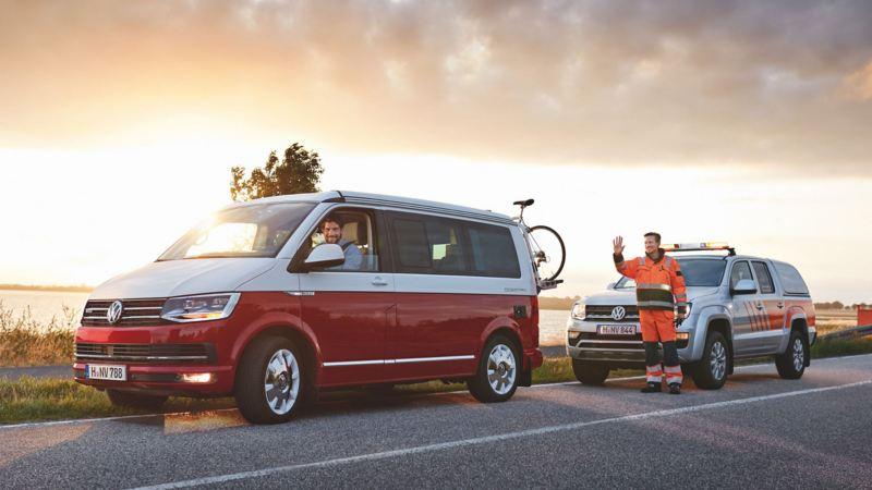 Assistance Volkswagen Vehicules Utilitaires sur la route