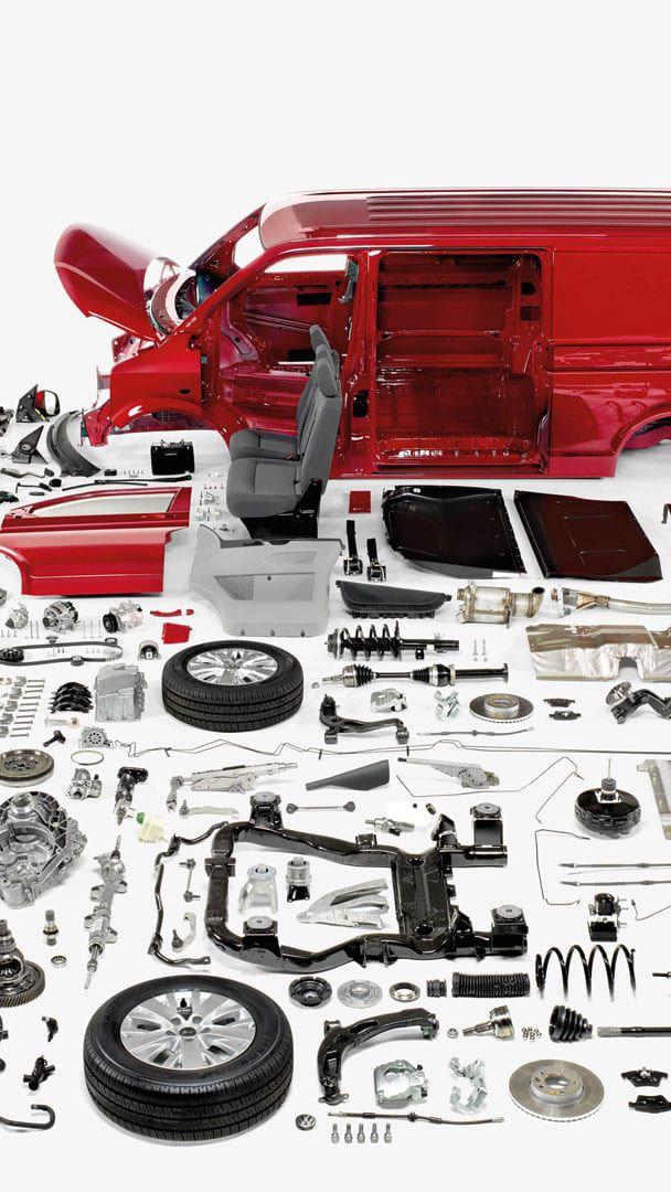 Ricambi di rotazione Volkswagen Veicoli Commerciali.
