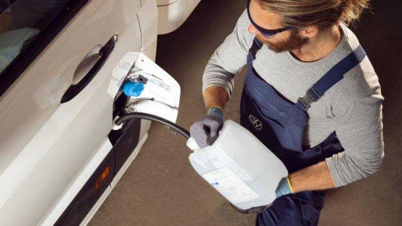Rabbocco AdBlue Volkswagen Service