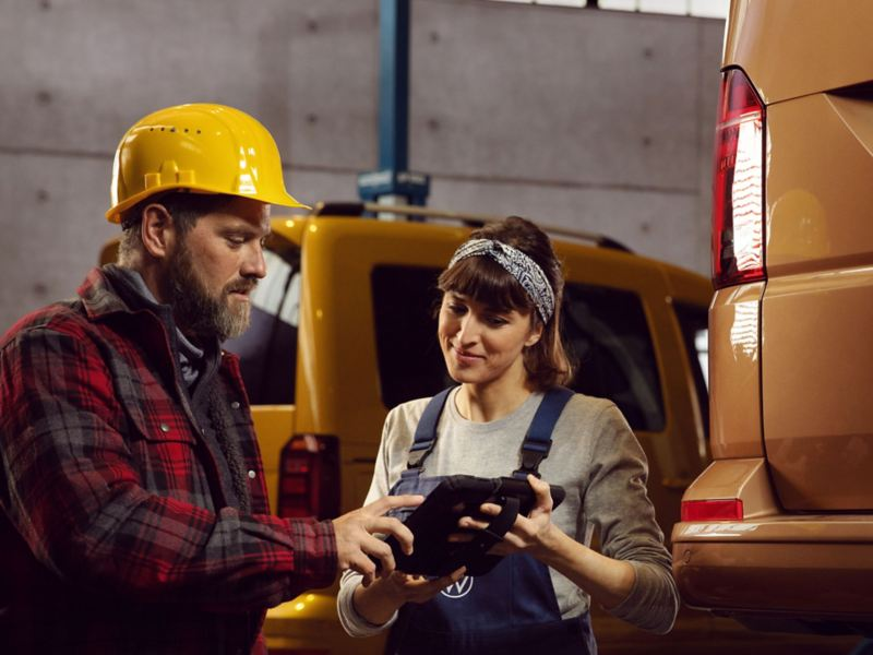vw Volkswagen varebiler varebil merkeverksted bilverksted bilmekaniker verkstedstest