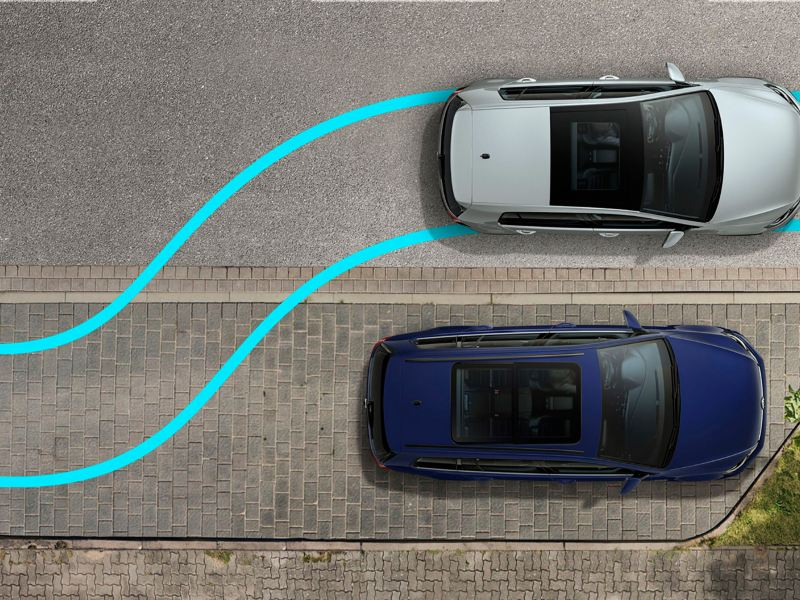 Diagrama de asistente de aparcamiento de Golf 2020 de Volkswagen