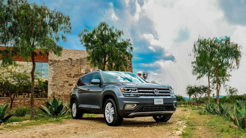 Teramont 2019, camioneta familiar Volkswagen equipada con sensores de reversa