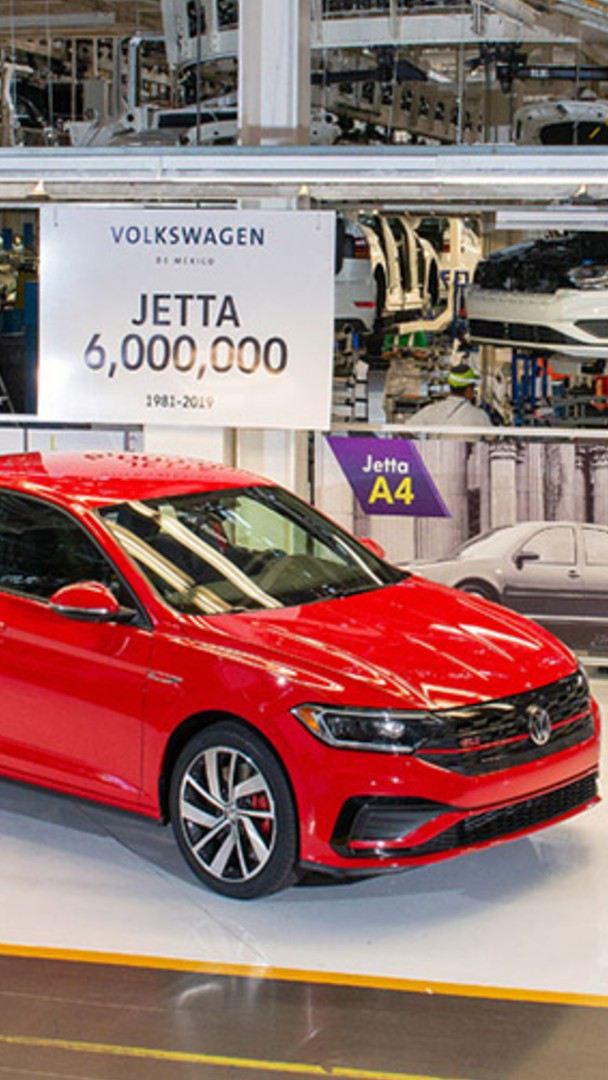 Jetta de Volkswagen - El auto sedán que cumplió su número 6 millones