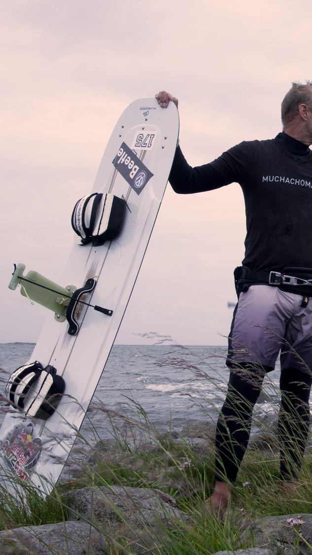 Havet höll på att kosta honom livet. Trots detta tillbringar Atte Kappel sitt liv på vatten – och han älskar det.