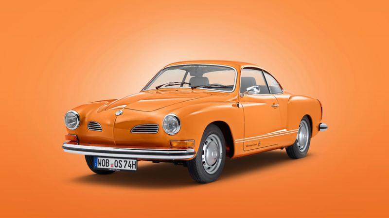 Historia del auto clásico deportivo Karmann Ghia Type 14 de Volkswagen