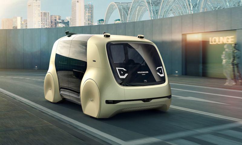 Selbstfahrendes Auto von VW