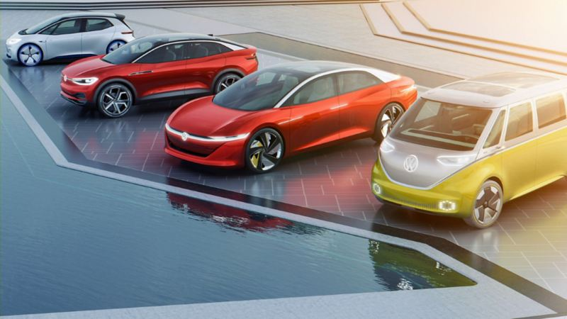 Autos eléctricos de la Familia ID. VW - Conoce el futuro de la electro movilidad
