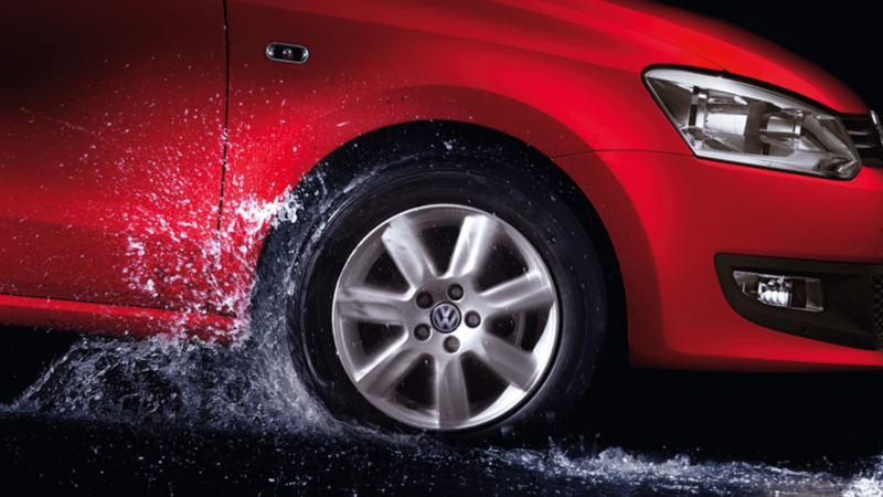 Avoid Water Logged Roads