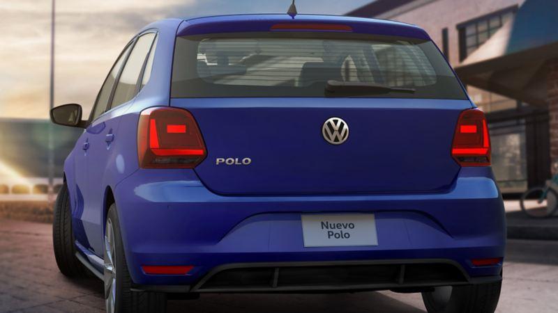 Vista trasera de Nuevo Polo de Volkswagen México