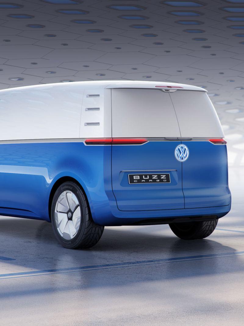 vw Volkswagen id buzz cargo elektrisk varebil elbil elvarebil el varebil