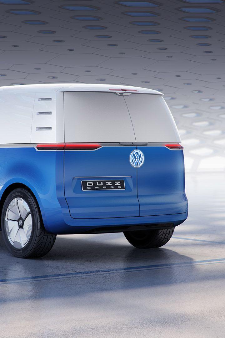 vw Volkswagen id buzz cargo elektrisk varebil elbil elvarebil el varebil bakdører