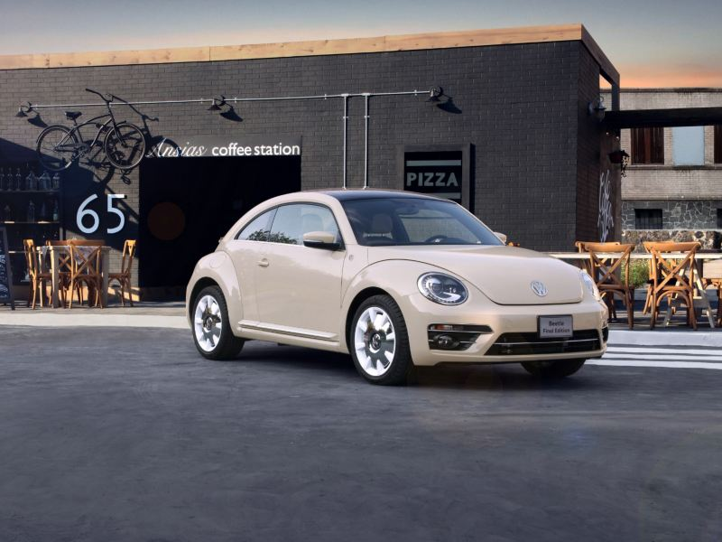 Beetle Final Edition - El modelo de auto Volkswagen vendido a través de Amazon