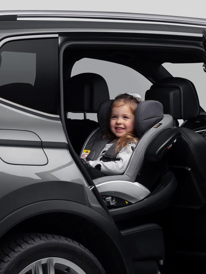 Barn i bilstol