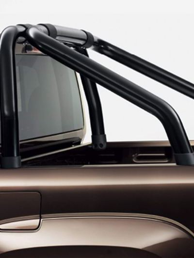 Rear styling bars - black