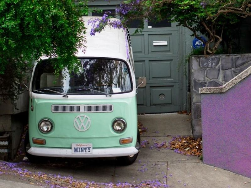 Combi Volkswagen - Auto clásico icónico de la marca de autos alemana