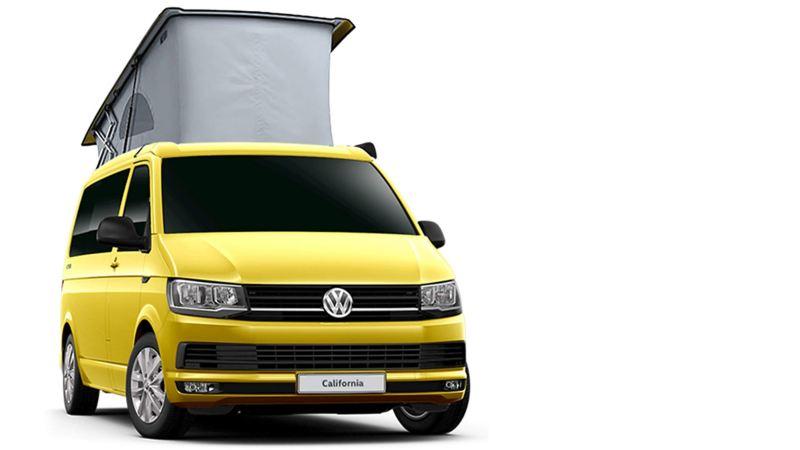 VW California camper van offers