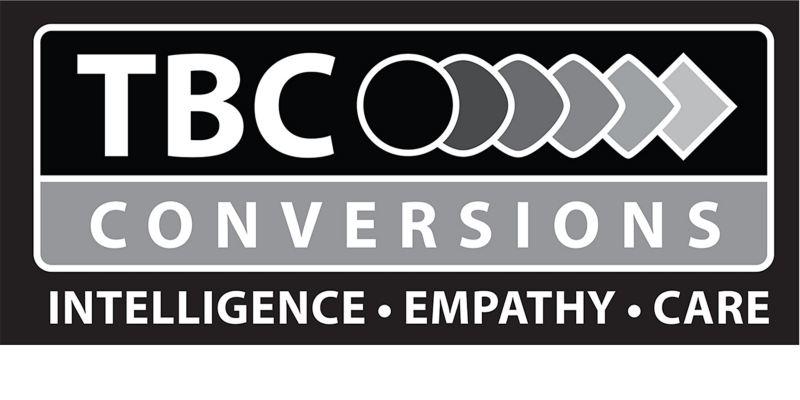 TBC Conversions logo
