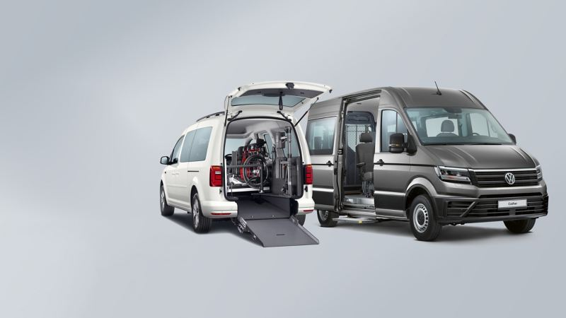 Volkswagen Caddy and Crafter van conversions