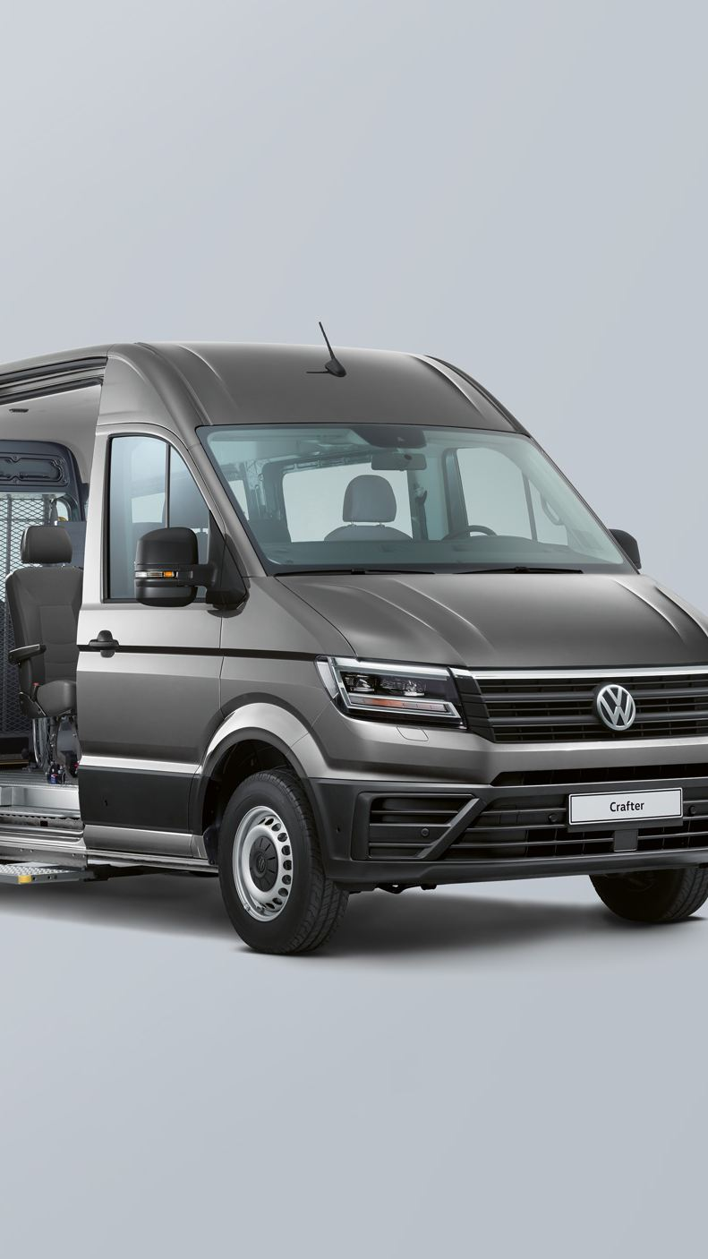 Volkswagen Caddy and Crafter van conversions