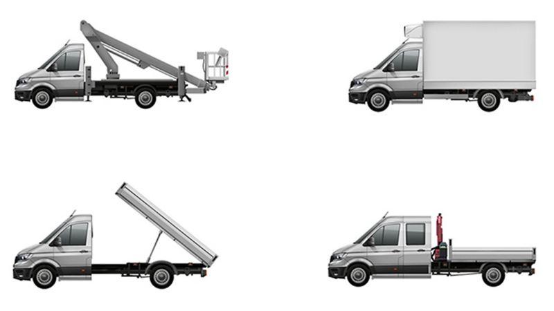Converted vans