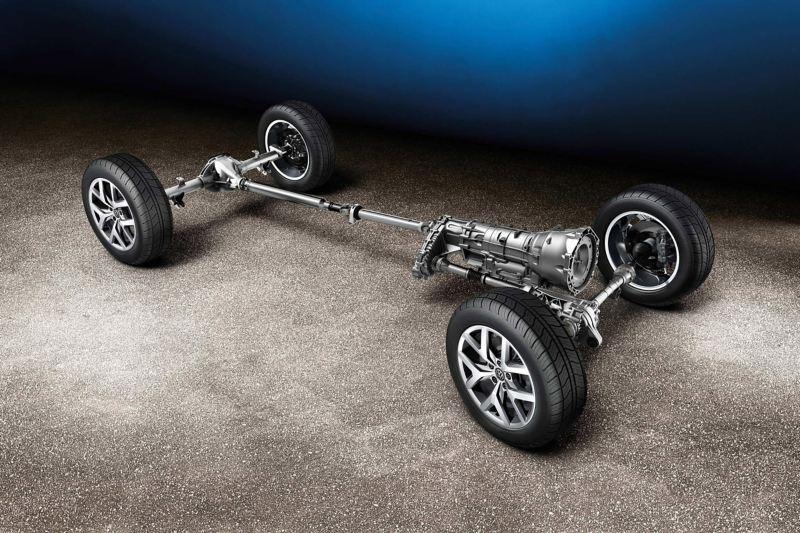 4Motion wheel base