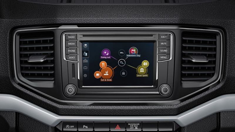 VW Composition colour audio communication system