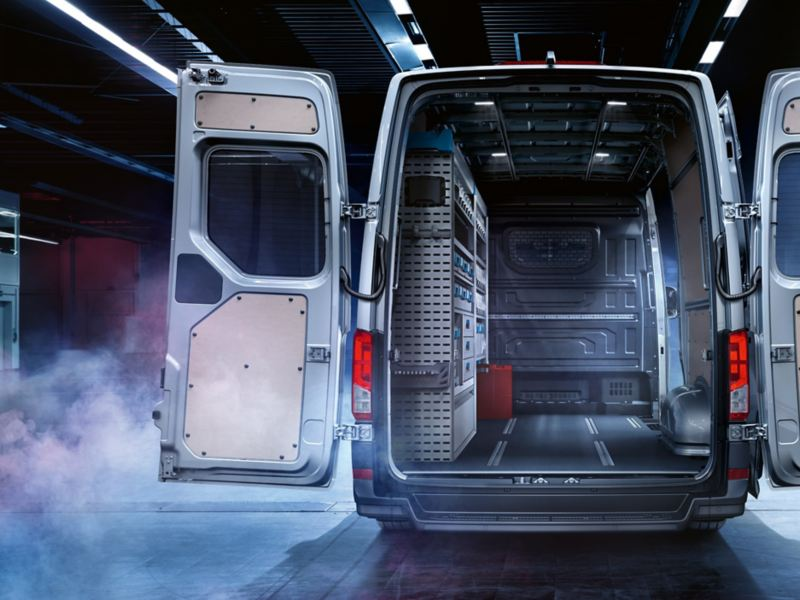 VW Crafter loading area