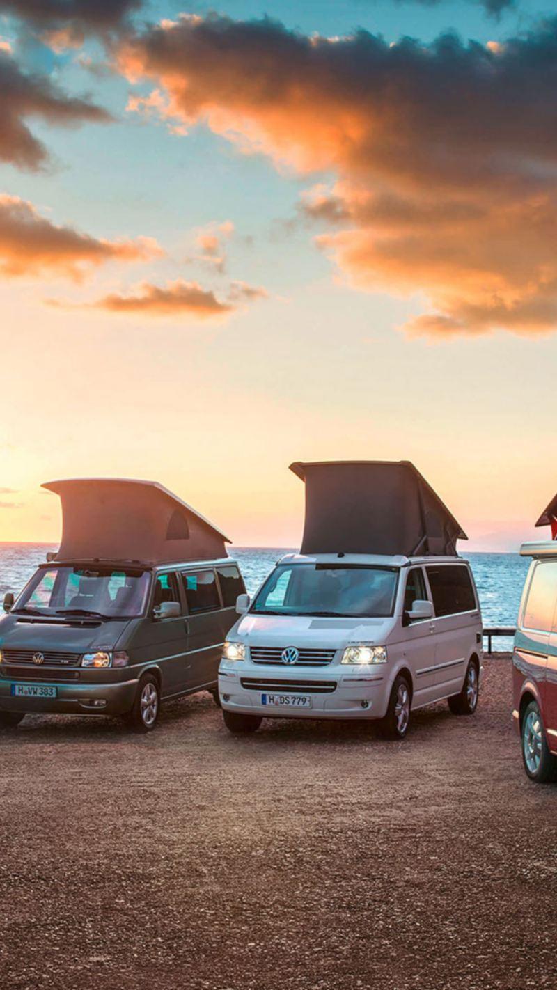 VW California 30 ans anniversaire plage