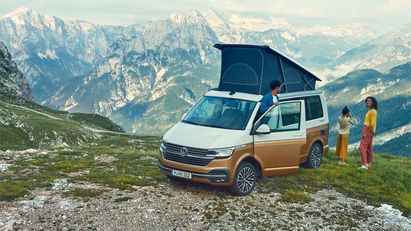 Volkswagen California T6.1 camping