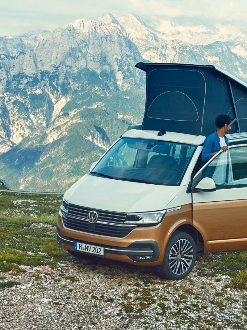 Volkswagen California camping