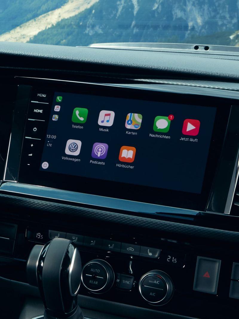 """System nawigacji """"Discover Pro"""" w Volkswagen California 6.1 Beach."""