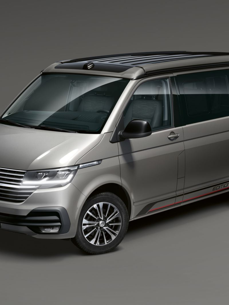 Uma Volkswagen California Edition.