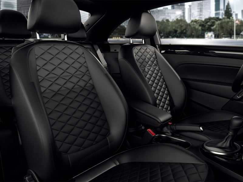 Diamon leather seats
