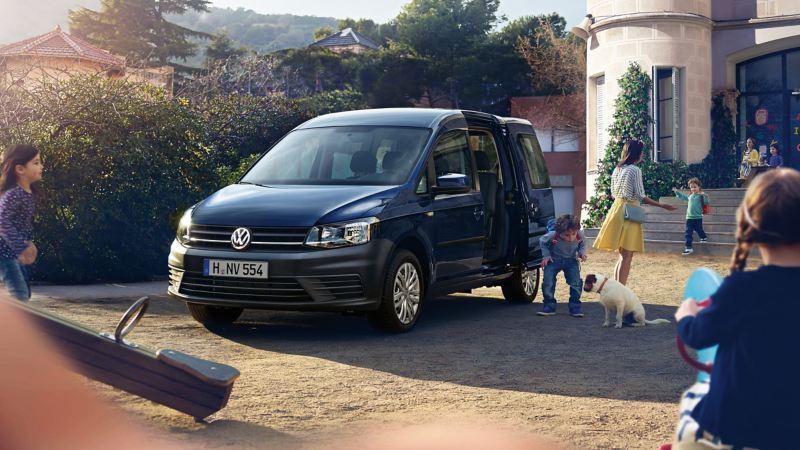 Volkswagen caddy beach en el colegio