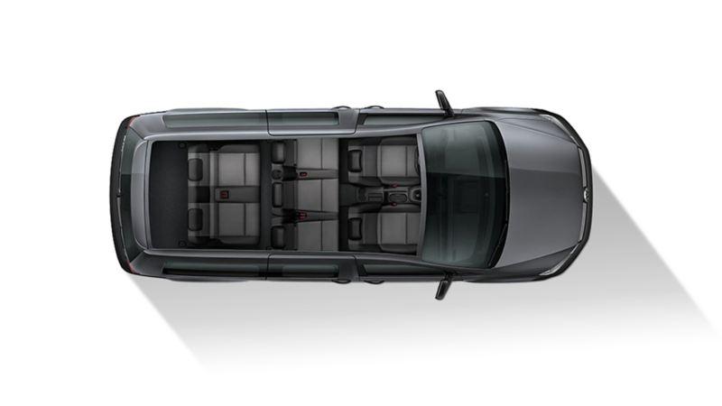 Volkswagen Caddy Maxi med sju säten