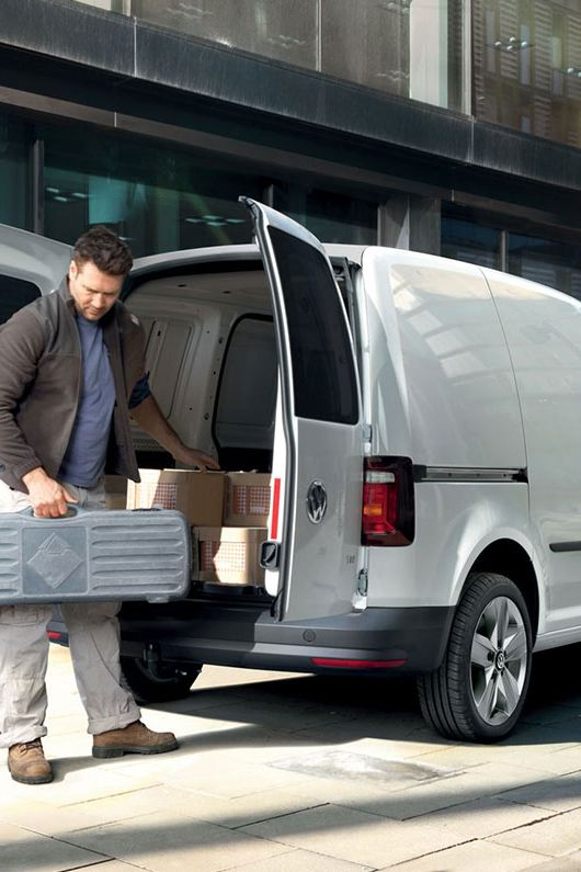 Caddy panel van workhorse