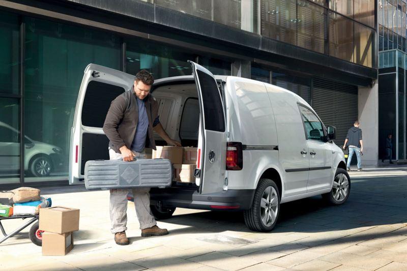 Caddy panel van workhorse